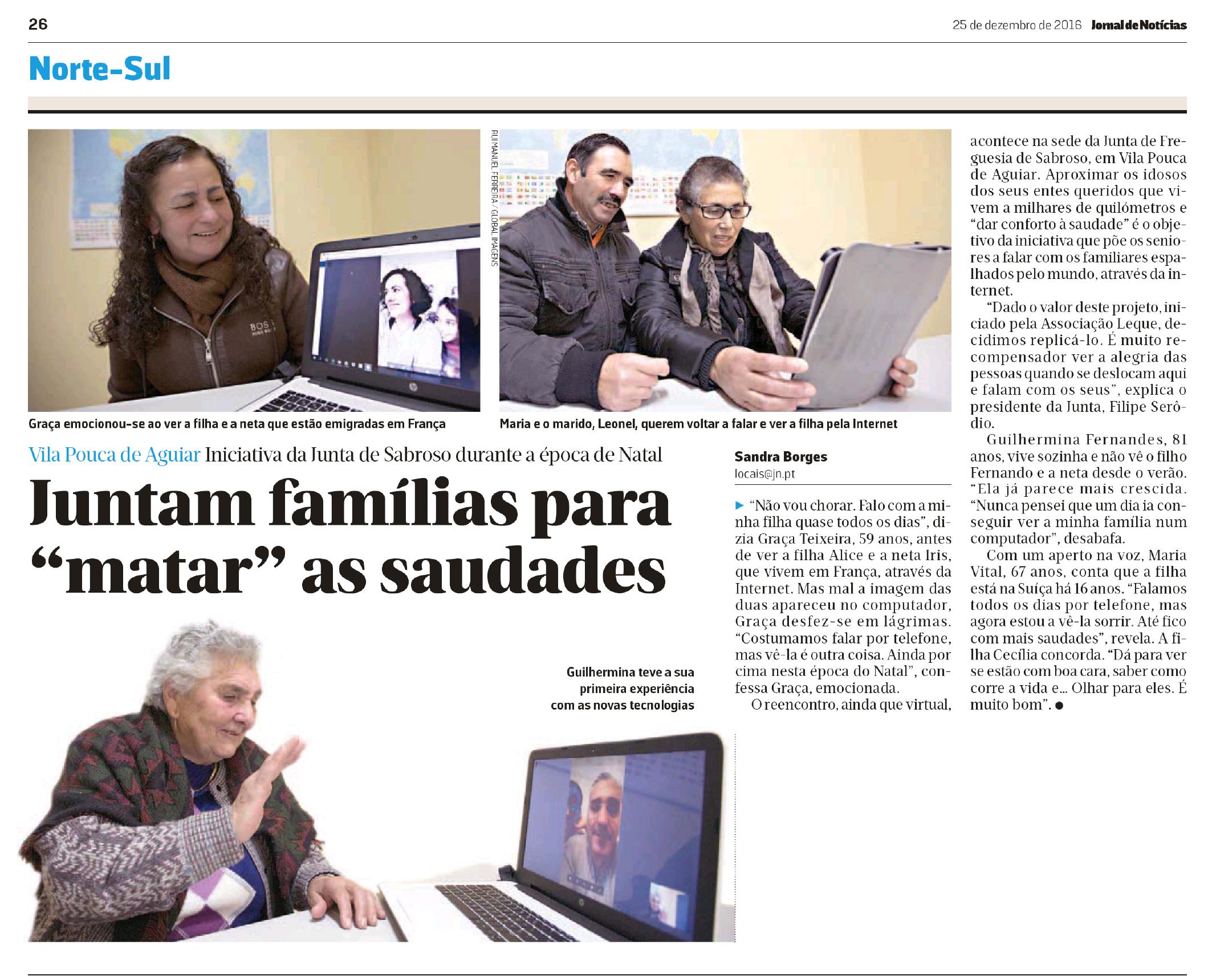 E-Paper Jornal de Notícias - Jornal de Notícias - 25 dez 2016